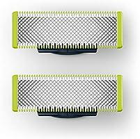 Wymienne ostrze Philips OneBlade - Pasuje do wszystkich uchwytów OneBlade - 200 ruchów na sekundę - Przycinanie,...