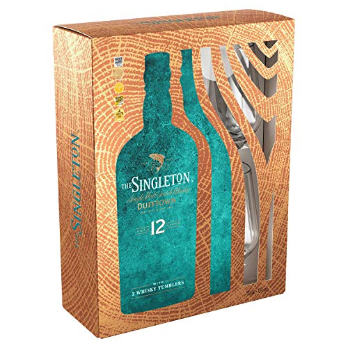 The Singleton of Dufftown Whisky 12 Jahre 0,7l + 2 Tumbler in Geschenkpackung