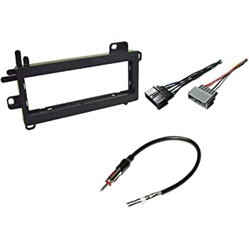 Amazon.com: Carxtc Combo Fits Jeep Wrangler 1997 1998 1999 2000 2001 2002 Stereo  Wiring Harness, Dash Install Kit Faceplate, with FM Antenna Adaptor  (Aftermarket Stereo Wire and Installation Kit): Car ElectronicsAmazon.com