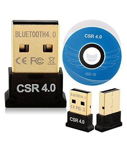 NK STAR Mini USB Bluetooth Adapter, 4.0 USB Bluetooth Dongle Receiver for Laptop PC Computer