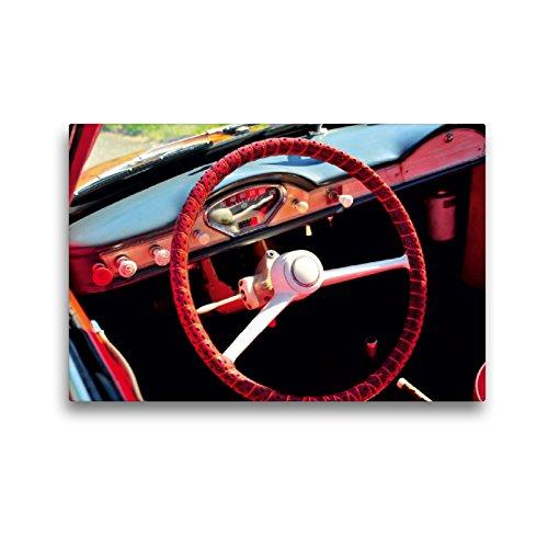 CALVENDO Premium Textil-Leinwand 45 x 30 cm Quer-Format Goggomobil Coupè 250 TS, Leinwanddruck von Ingo Laue