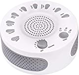 White Noise Machine Sleep Helper Sound Relaxation Machine Rekome Sleep Therapy Sound Machine with 9 Unique Natural Sounds, Sleep Disorders Noise Cancelling for Home, Office, Spa, Yoga, Kids