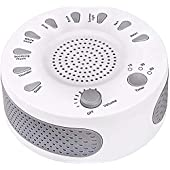White Noise Machine Sleep Helper Sound Relaxation Machine Rekome Sleep Therapy Sound Machine with 9 Unique Natural Sounds,Sleep Disorders Noise Cancelling for Home,Office,Spa,Yoga.Kids …
