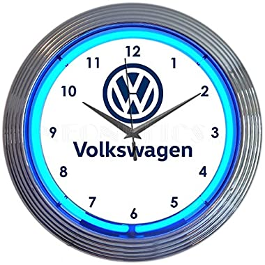 Neonetics Volkswagen VW Neon Clock