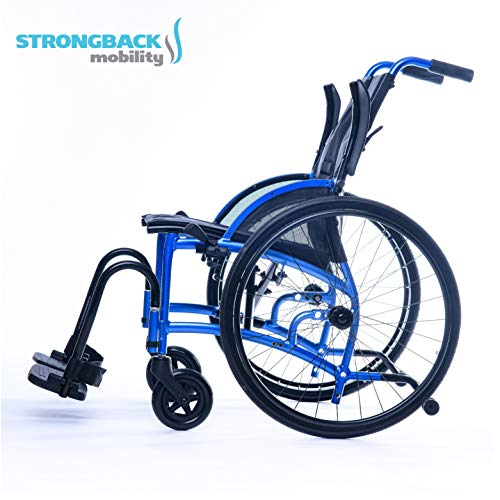 STRONGBACK 24 Wheelchair with 18¨seat Width and Flip Back Arms, Winner in The Medical, Rehabilitation and Health Care Category at The 2020 German Design Council Award