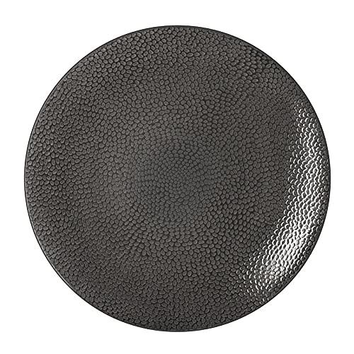 Médard de Noblat Stone Gris - Coffret 6 assiettes plates