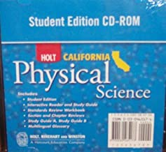 Holt Science & Technology California: Student Edition CD-ROM Grade 8 Physical Science 2007