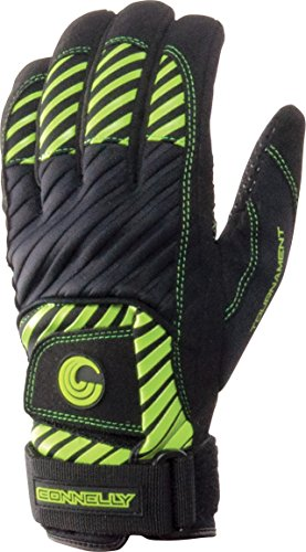 CWB Connelly Men's Waterski Tournament Gloves, Green, Large
