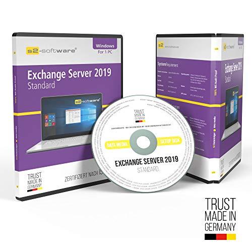 Microsoft® Exchange 2019 Standard DVD mit original Lizenz. Papiere & Lizenzunterlagen von S2-Software GmbH & Co. KG