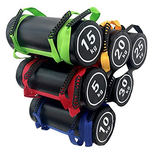 Gewicht Sand Power Bag/Gewichtheffen zandzak/Power Bag/Bokszak Energie Pack/Fitness Oefening Duurzaam zandzak (Willekeurige kleur),20kg