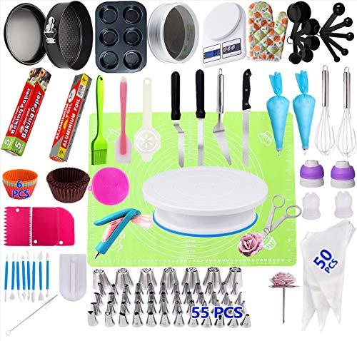 Chirs Angebot 106 Stück Kuchen Plattenspieler Set Backwerkzeuge Russische Dekoration Mundkuchen Backen
