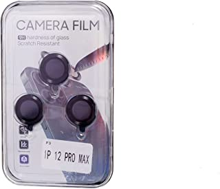 Camera Mobile Phone Lens Protector For Iphone 12 Pro Max - Black
