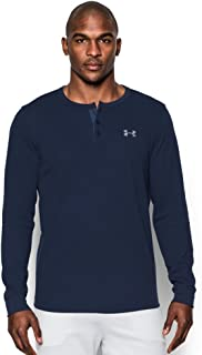 Under Armour Men's Waffle Long Sleeve Henley Shirt