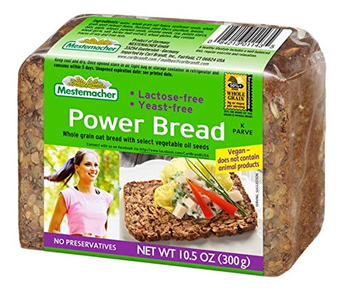 Mestemacher Power Bread, 10.5 Ounce (Pack of 9)