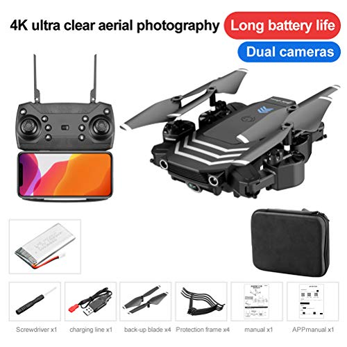 Cogihome LS11 RC Drone with Camera HD WiFi FPV Mini Foldable 4K Dron Helicopter Quadcopter Selfie Drones Gifts