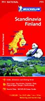 Scandinavia & Finland - Michelin National Map 711: Map (Michelin National Maps)