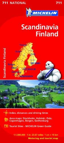 Mapa National Escandinavia Finlandia (Mapas National Michelin)