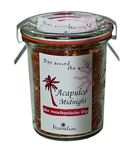 Fuego y cristal–Dip Especias mezcla Acapulco Midnight (45G)