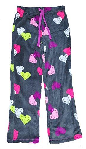 Womens Super Minky Plush Pajama Sleep Pant