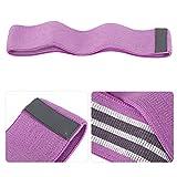 Aoutecen Fitness Loop Cinturón de Bucle de Yoga Material Seguro para Deportes para Fitness(Purple)