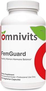 Omnivits FemGuard Healthy Women Hormone Balance | Women's Formula with Vitex, Black Cohosh, Vitamin B6, DIM | 120 Vegetari...