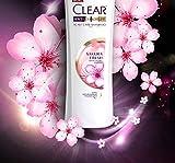 CLEAR SHAMPOO ANTI DANDRUFF SAKURA FRESH FRESH FRAGRANT HAIR 1X400ML