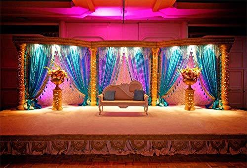 Aliyz - Telón de fondo para bodas de 10 x 8 pies con ritual de la India, para celebración, tradición de boda, mandatario, para pareja, esposa, marido, fotografía, vídeo para estudio fotográfico