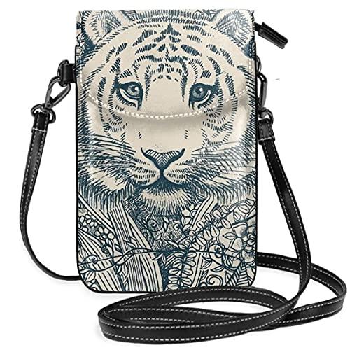 Tiger Tangle - Cartera ligera para teléfono celular, con práctico transporte