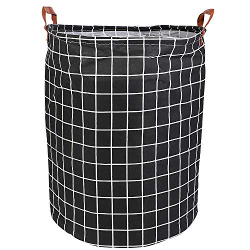 Souarts wasmand huishouden organizer mand opvouwbaar linnen stof opbergmand opbergmand opbergdoos opbergmand