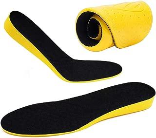 ZusFut Plantillas Elevadoras 2 cms Alzas para Zapatos