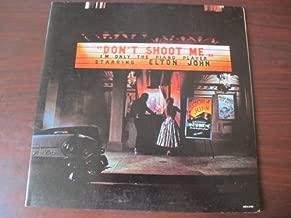 Elton John, Don't Shoot Me, I'm Only the Piano Player - Vinyl LP Record