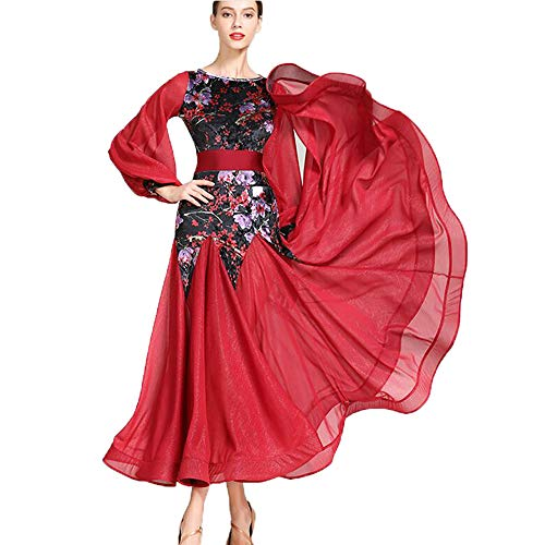 WESEASON Erwachsene Latult Dance Kleid Praxis Kostümguss Gatsby Dress Frauen 1920er Art Deco Sequin Paisley Flapper Tassel Glam Party Plus Größe XL 2XL,M