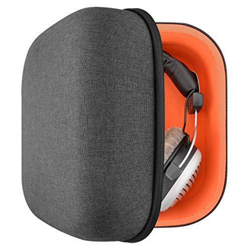 Geekria UltraShell - Custodia per cuffie Senheiser HD820, HD800 S, Beyerdynamic DT-1990 pro, DT-1770 pro, DT-790, DT 770 e altri auricolari stereo HiFi Over-Ear, grande custodia rigida da viaggio