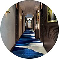 ZEMIN 廊下敷きカーペット ラグ じゅうた リビングルーム 寝室 領域 カーペット、 ショートヘア コンピューターチェア コーヒーテーブル 矩形 滑り止め (Color : A, Size : 0.8x1.5m)
