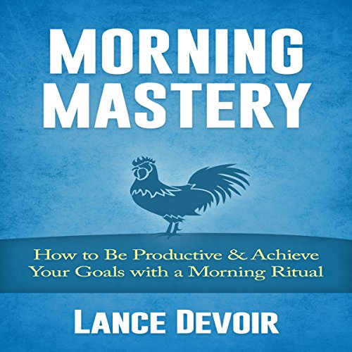 Morning Mastery audiobook cover art