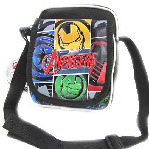 Avengers [N0557 - Sac créateur noir multicolore (19x15x10 cm)