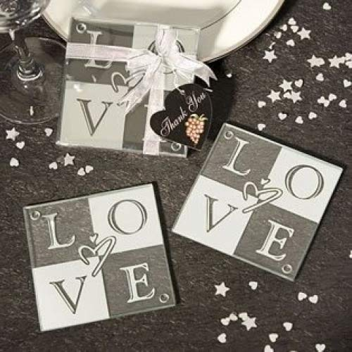 LOVE Coaster Wedding Favors (Set of 2), 72