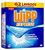 Wipp Express Detergente en Polvo Azul - 62 Lavados