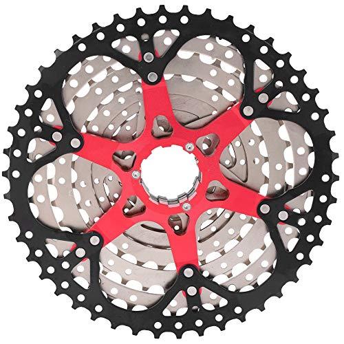 CDSL Cassette Freewheel Rueda Libre Bicicleta De Montaña Freewheel Cassette Sprocket 9 Speed Bike Freewheel 46T Accesorio De Reemplazo De Bicicletas