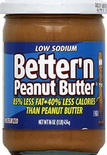 Better N Peanut Butter Peanut Sprd Ls Lf , pack of 3