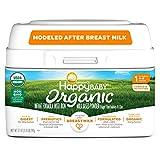Happy Baby Organic Infant Formula Milk Based Powder with Iron Stage 1,...