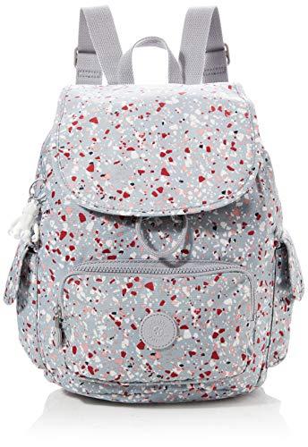 Kipling Damen City Pack S Rucksack, Mehrfarbig (Speckled), 27x33.5x19 cm