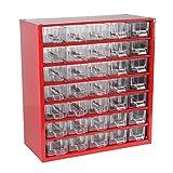 Cogex 62213 Casier métal 35 tiroirs