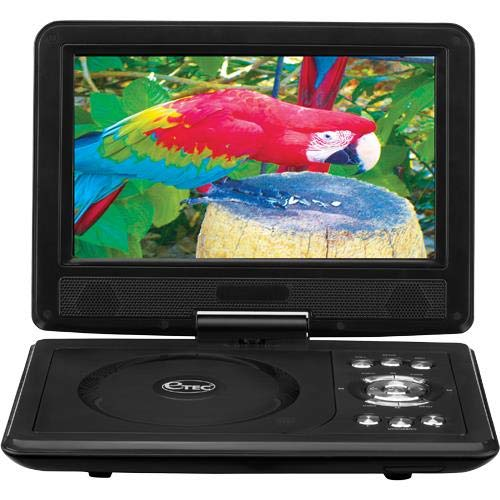 Read About Etec - 9 Swivel Screen Portable DVD Player