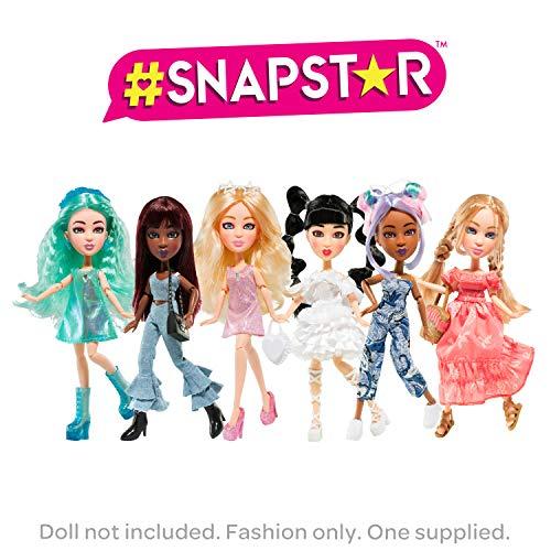 BANDAI YL30010 Outfits & Fashion SnapStar Ankleidepuppen, 23cm– Accessoires zur individuellen Gestaltung der Puppen