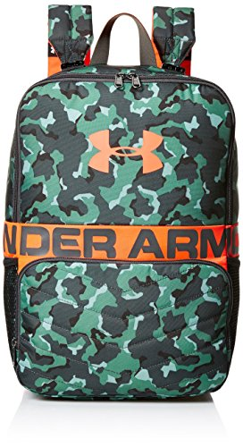 Under Armour unisex-adult Change-Up Backpack , Aegean Green (707)/Neon Coral ,One Size Fits All