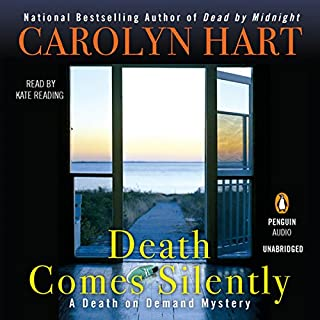 Death Comes Silently audiobook cover art