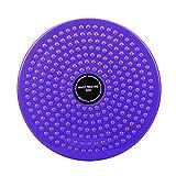 LISSO Twisting Waist Disc, Body Shaping Twisting Waist Machine Rotating Board Female Twister Exercise Sports Equipment Aerobic Exercise Foot Massage (Purple)