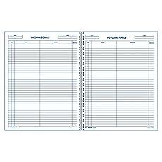 Image of Rediform Call Register. Brand catalog list of Rediform.