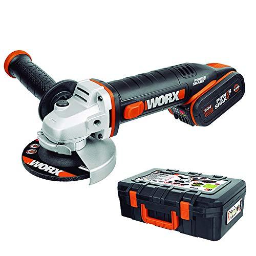 Worx WX800.2 - Amoladora 115mm 20V 6.0Ah